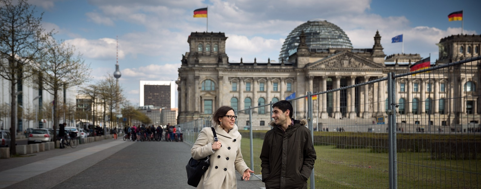 Germany. Volunteer initiative matches asylum seekers with local Germans